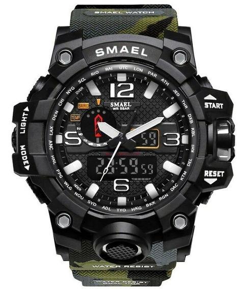 Relógio Smael 1545 Militar Prova D