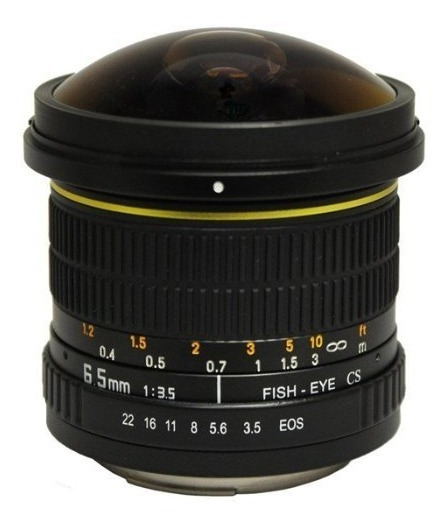 Objetivo Lente Ojo Pez 6.5mm F/3.5 P Camara Nik Nuevo Mn4