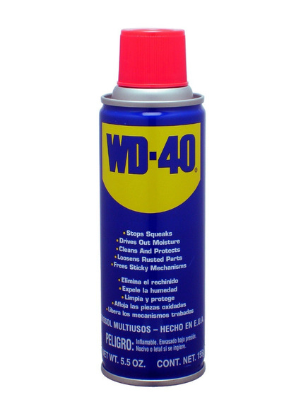 Kit Com 6 Wd-40 Lubrificante Spray Multiuso 300ml