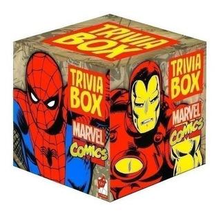 Juego De Mesa Trivia Box Marvel Comics Iron Man Thor Spider
