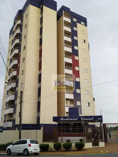 Imagem 1 de 23 de Apartamento Com 3 Dormitórios À Venda, 78 M² Por R$ 280.000,00 - Parque Fabrício - Nova Odessa/sp - Ap1346