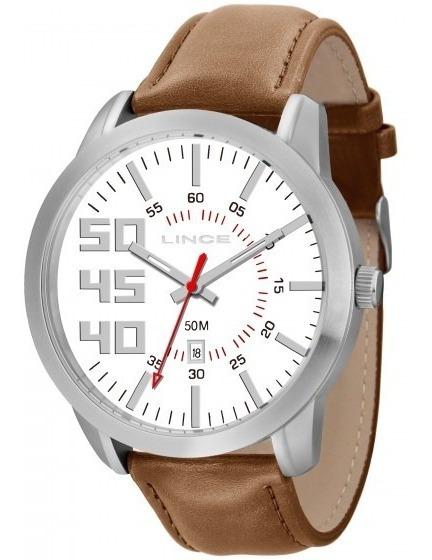 Relógio Lince Mrc4269s B2mx Masculino Couro - C/nota Fiscal