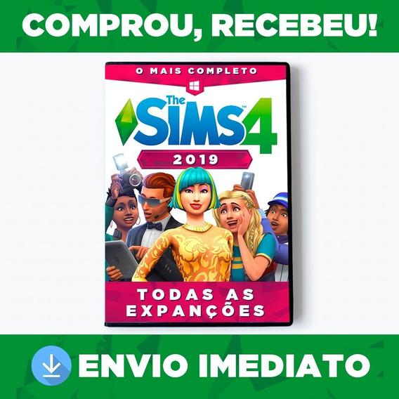 The Sims 4 Todas Expansões Já Em Português Mídia Digital Pc - Completo
