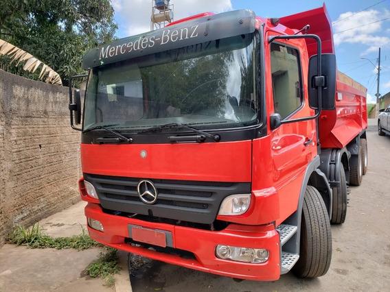 Mercedes-benz Atego 2428 8x2 Ano 2011/2012 Caçamba Basílio