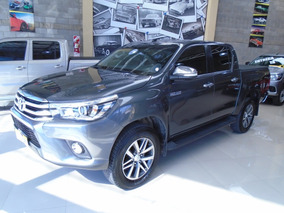 Toyota Hilux 2.8 Cd Srx 177cv 4x4 At 2016 Color Gris Oscura.