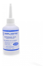 1unid Alcool Isopropanol 110ml Implastec Planaltina-df