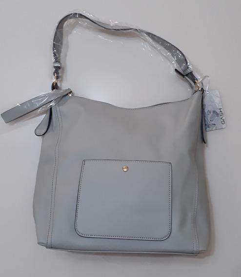 Bolsa Feminina Gash Com Bolso Externo Bg72073