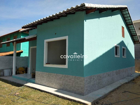 Casa Com 2 Dormitórios À Venda, 64 M² - Rio Do Ouro - São Gonçalo/rj - Ca3800
