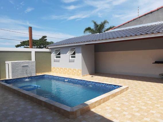 Casa Nova 3 Quartos Em Terreno Inteiro A 300 Metros Da Praia