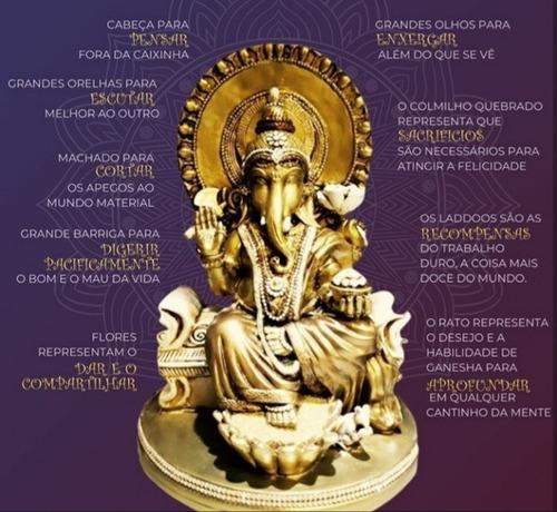 Ganesha 33 Cm _ Brasil De Todos Os Santos Ou