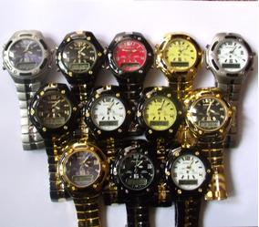 Relógio Masculino Potenzia Digital E Analogic,lote Com 80.