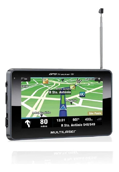Gps Multilaser Tracker Tv Lcd 4,3pol. Touch Fm Gp034