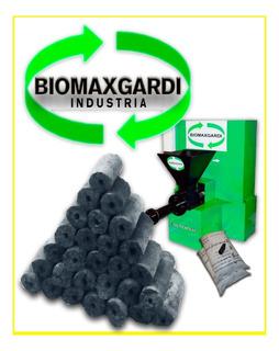Maquina Fabricacion De Briquetas De Carbon - Biomaxgardi