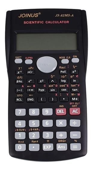 Calculadora Cientifica Joinus Js-82ms-a + Pilas De Regalo!!!