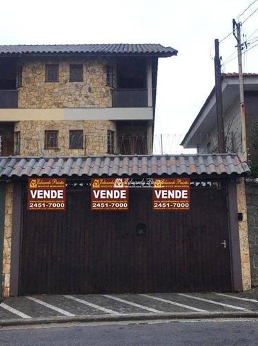 Sobrado Vila Rosália - 03 Suítes À Venda, 233 M² Por R$ 820.000 - So0188