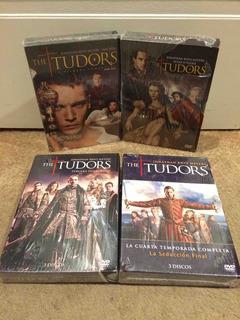 Venta Dvd Serie The Tudors Completa Impecable Estado