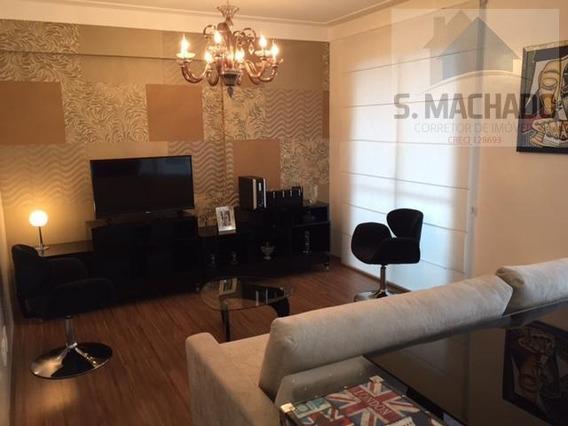 Apartamento Para Venda Em Santo André, Centro, 3 Suítes, 1 Banheiro, 2 Vagas - Ve0435