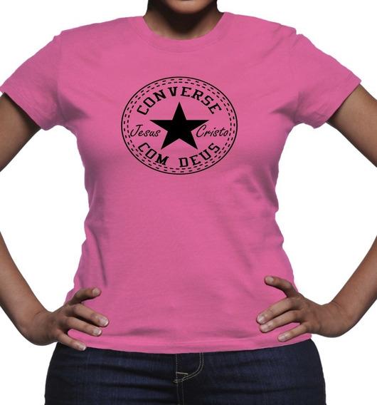 Camiseta Camisa Evangelica Conversar Com Deus Nosso Senhor