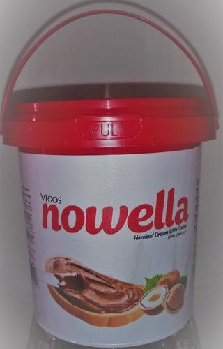 Imagen 1 de 3 de Crema Nowella De Avellanas Importada De Turquía 500 Gs