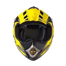 Capacete Texx Speed Mud Amarelo Metalico Xxl-64