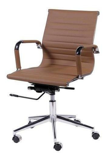 Cadeira Executiva Giratoria Fortt - C039 Creme