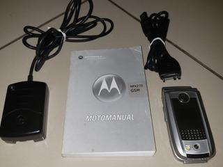 Celular Smartphone Antigo Motorola Mpx220 - Raridade