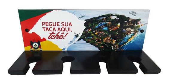 Suporte Porta Taças Cerveja De Parede Placa Decorativo Mdf