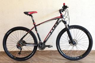 Bike Cube Vermelho Aro 29 Com Kit Shimano Alivio M4050 27v