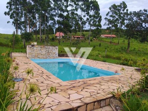 Chácara Com 3 Dormitórios Para Alugar, 20000 M² Por R$ 3.500,00/mês - Carafá - Votorantim/sp - Ch0037