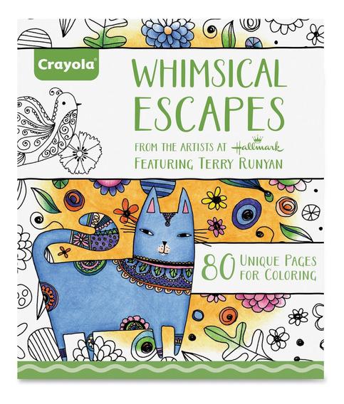 Libro Para Colorear Whimsical Escapes Crayola