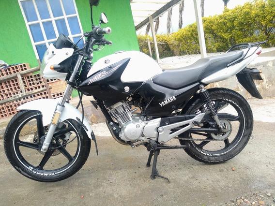 Yamaha Ybr 125 Esd 2017 Blanco/negro