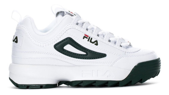 Tenis Fila Disruptor 2 Premium Blanco/verde 3fm00666-124