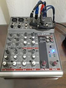 Mesa Mixer Phonic Am105 Em Perfeito Estado