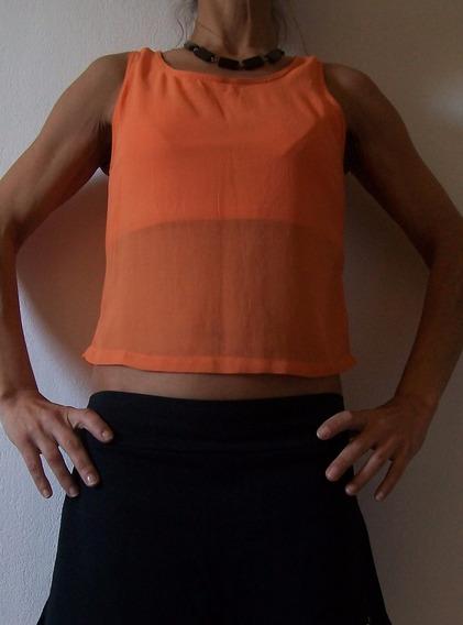 Remera Musculosa Vestir Informal Viscosa Talle 38 Usada