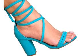 fda4030b19c Zapato Mujer Sandalia Tacón Dama Envío Gratis