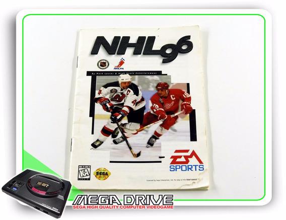 Manual Nhl 06 Original Mega Drive / Genesis