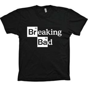 Camisetas Séries - Walter White Breaking Bad - 100% Algodão!