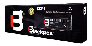 Memoria Ram Blackpcs Ddr4 Udimm 8g 2400 Mhz 1.2v Md22402-8gb