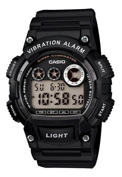 Relógio Casio W-735h-1av Esportivo Elegante Charmoso Belo