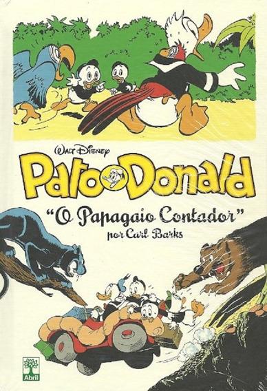 Pato Donald Abril O Papagaio Contador Coleção Carl Barks