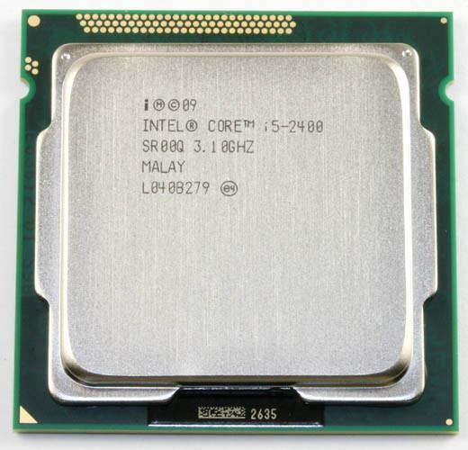 Processador Intel® Core I5-2400 1155 3.1 - 3.4 Ghz - Usado