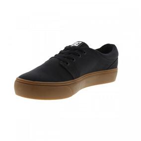 Tênis Dc Shoes - Trase - Preto Sola Marrom! Original!!!