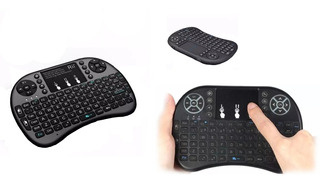 Mini Teclado Inalambrico Touchpad Smart Tv/pc/xbox