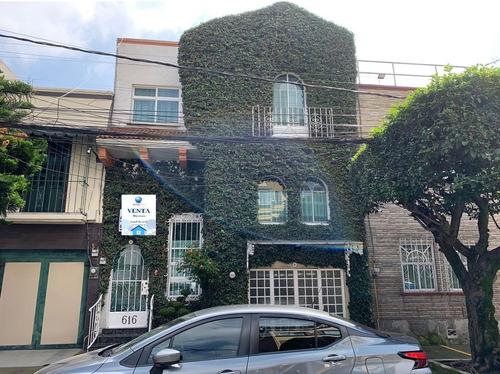 Imagen 1 de 23 de Casa En Venta En La Colonia Narvarte