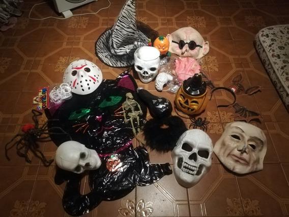Lote Artículos Halloween Decoración Fiestas