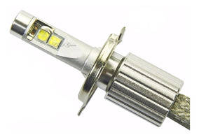 1 Unidade Lâmpada Luminark 6000 Lm Led H4 H7 Hb3/4 H8 H11