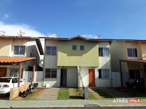 Sobrado Com 2 Dormitórios Para Alugar, 64 M² Por R$ 700/mês - Residencial Vereda Dos Buritis - Goiânia/go - So0001