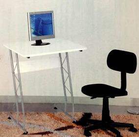 Mesa Individual Para Estudo Com Computador Monitor Notebook