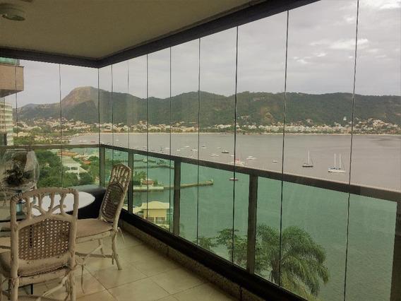 O Apartamento Com 4 Dormitórios À Venda, 250 M² Por R$ 3.900.000 - Icaraí - Niterói/rj - Ap0906