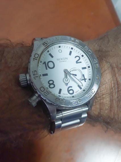 Relógio Nixon 42-20 Mod Usado. Original. Aço Inoxidável